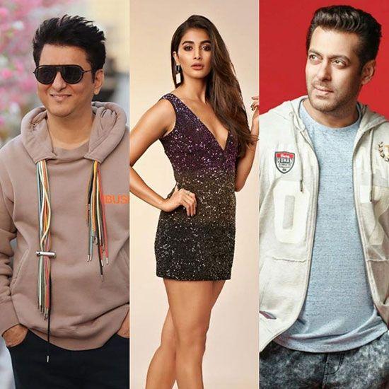 Pooja Hedge and Salman Khan