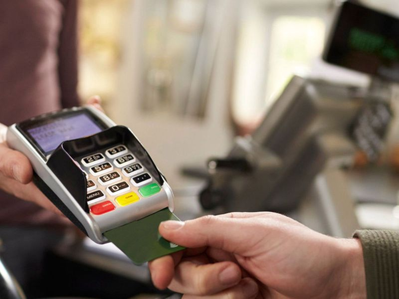 Stock Credit card payment