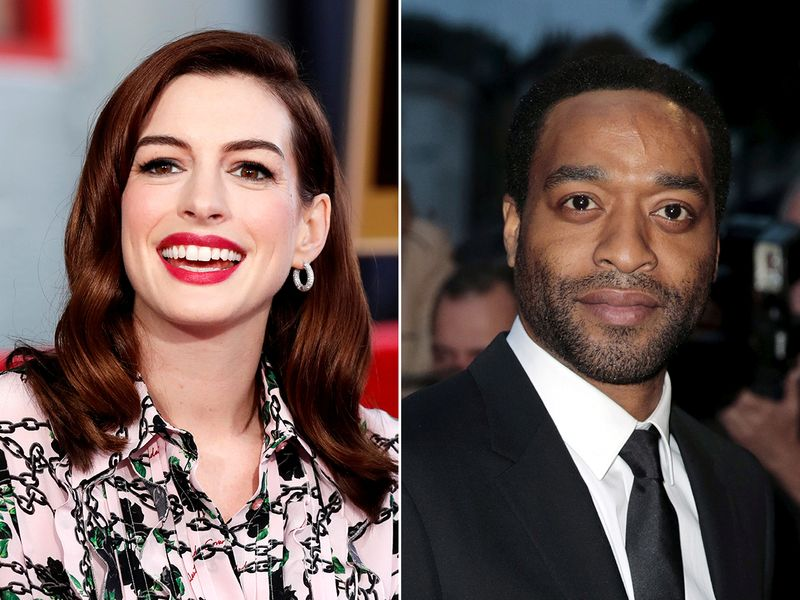 Anne Hathaway and Chiwetel Ejiofor, the stars of 'Locked Down'