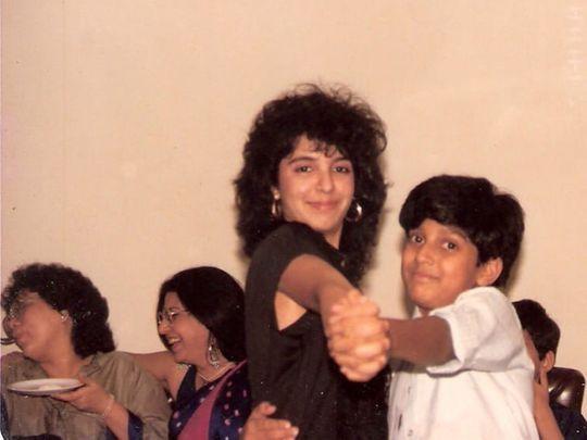 Farah Khan and Farhan Akhtar in their younger days