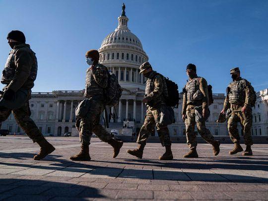 National Guard Capitol US