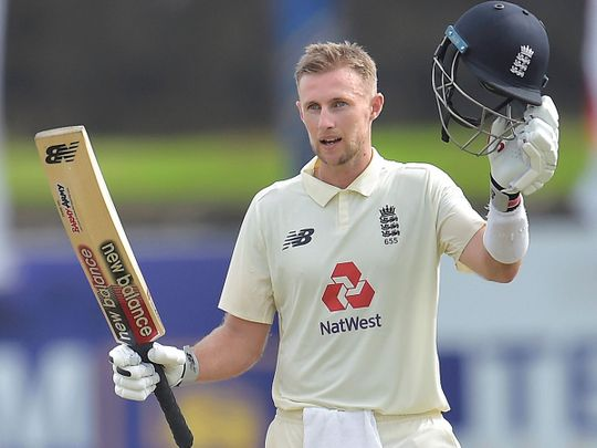 Joe Root smashed a double-century against Sri Lanka