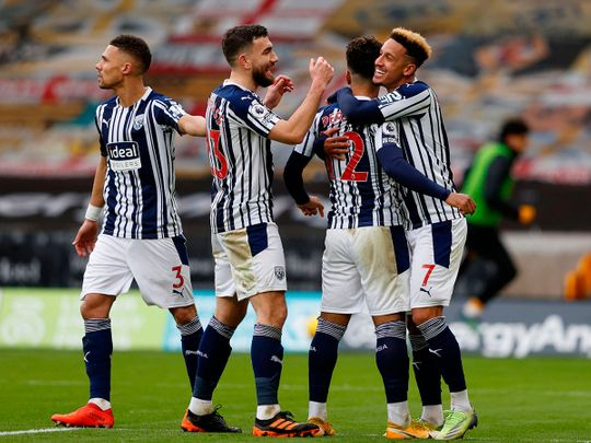 Two quick goals put West Brom back in command against Wolves