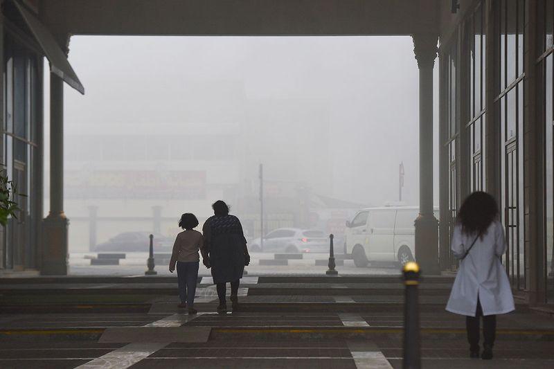 Fog in Sharjah
