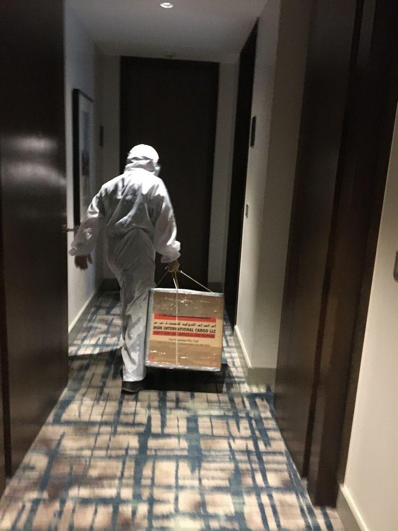 Inside hotel quarantine in Manila