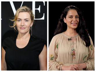 Kate Winslet and Kangana Ranaut