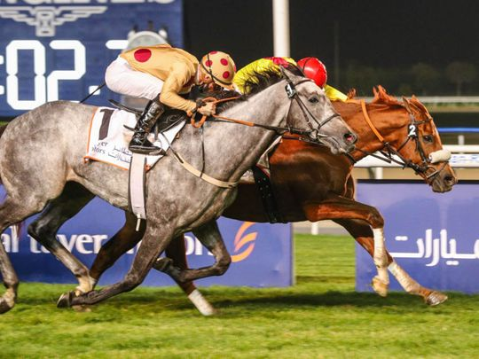 Recordman and Tadhg O'Shea win the Al Tayer Motors Handicap