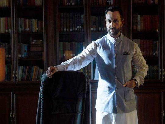 Saif Ali Khan in Tandav