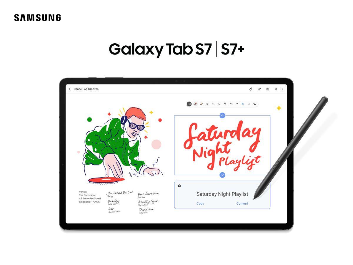 Samsung Tab S7 3
