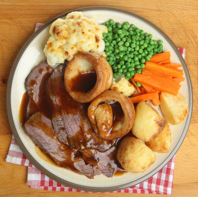 A traditional Sunday roast