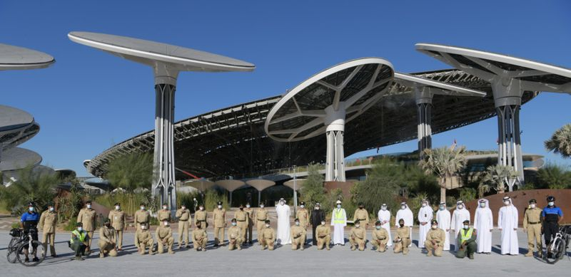 Dubai Police Commander-in-Chief reviews EXPO 2020 pic1-1610973707163
