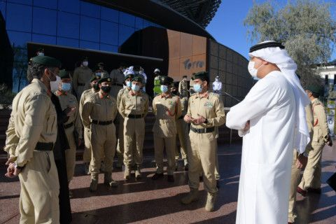 Dubai Police Commander-in-Chief reviews EXPO 2020 pic55-1610973709099