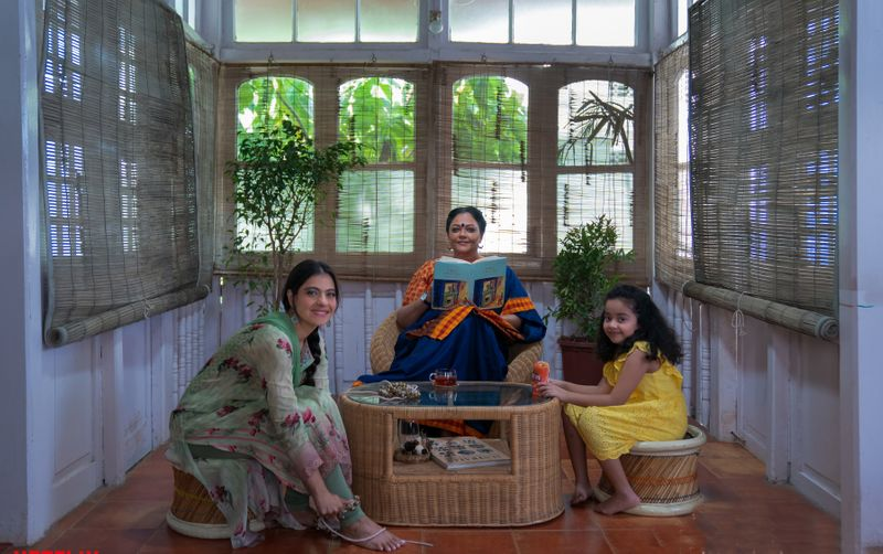 Kajol, Tanvi Azmi and Mithila Palkar in Tribangha