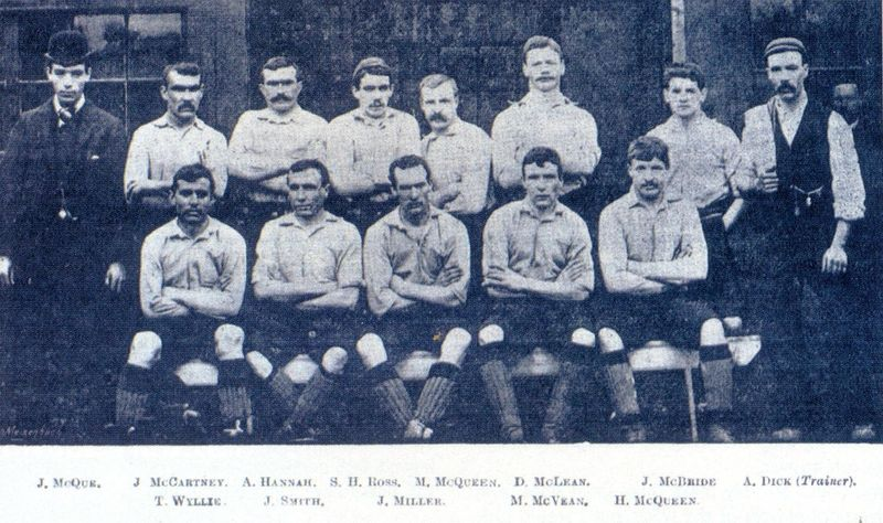 Liverpool during their first season in 1892-93.