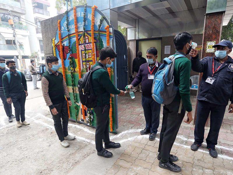 Students school Delhi