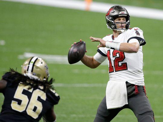 Tampa Bay quarterback Tom Brady
