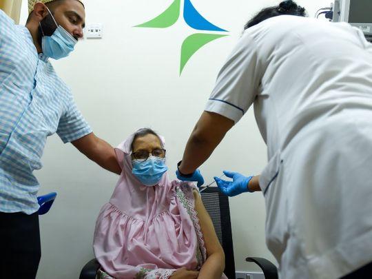 A day in the life of a Dubai COVID-19 vaccination centre