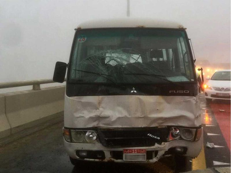 Driver killed Abu Dhabi