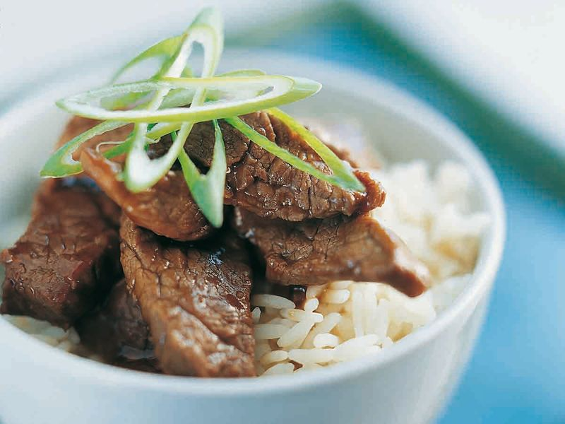 Ken Hom Beef with oyster sauce