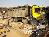 Truck India accident Gurajat