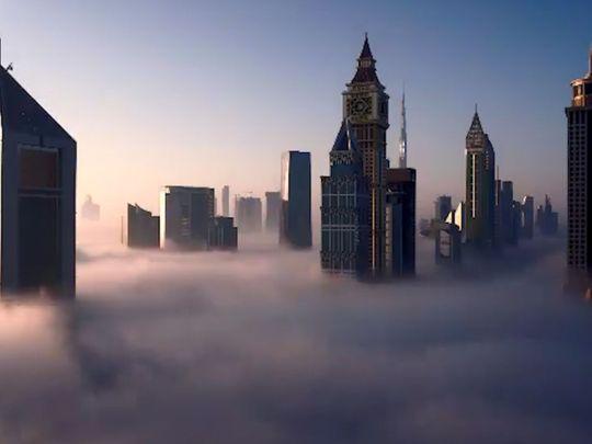 UAE fog: residents share their videos of a foggy morning