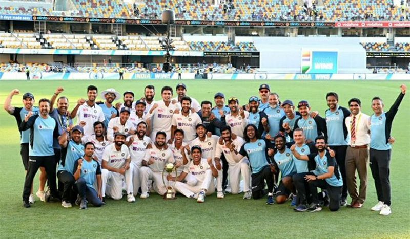 Virat tweeted the picture of the win