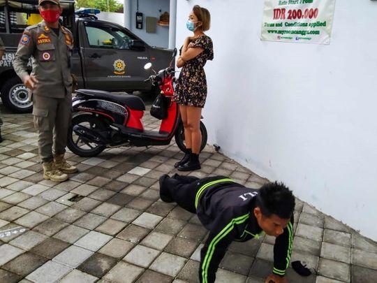Bali face mask push up