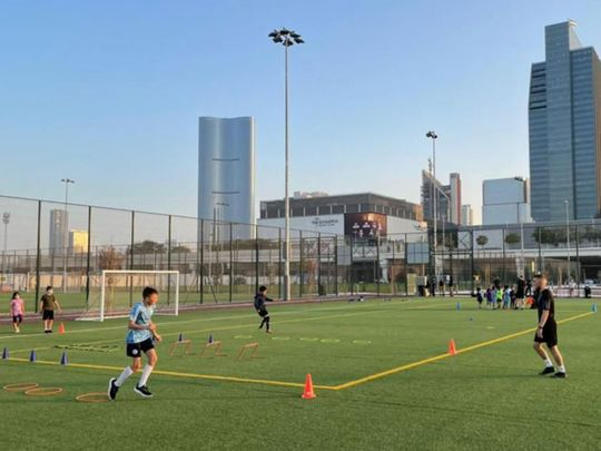 City Football Schools has opened a new venue on Al Maryah Island in Abu Dhabi