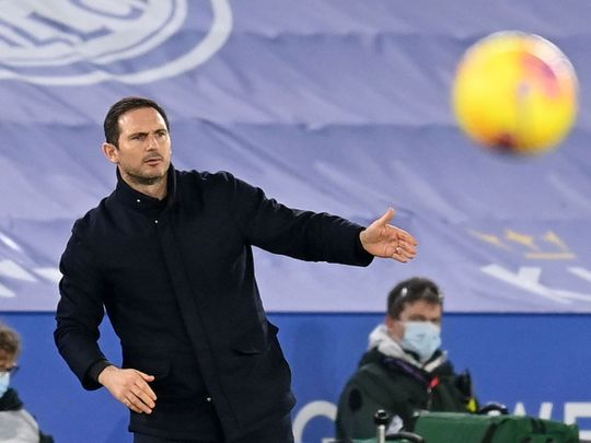 Frank Lampard's Chelsea lost 2-0 to Leicester