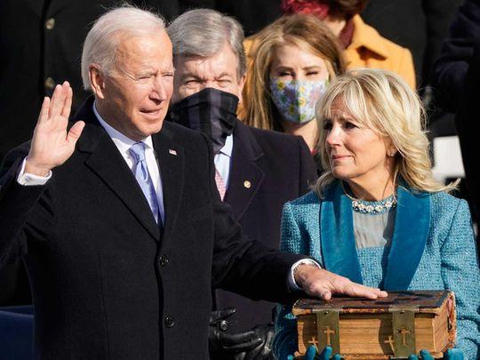 Joe Biden Jill bible