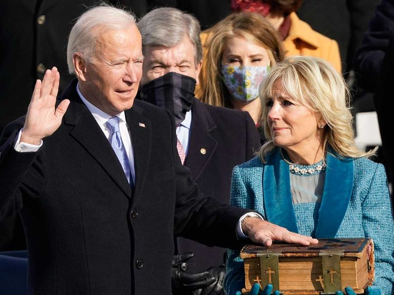 Joe Biden Jill bible