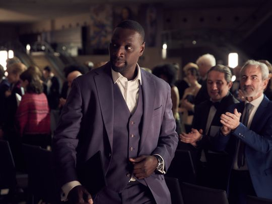 Omar Sy in 'Lupin'