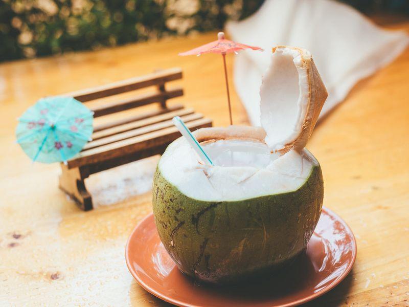 Tender coconut water