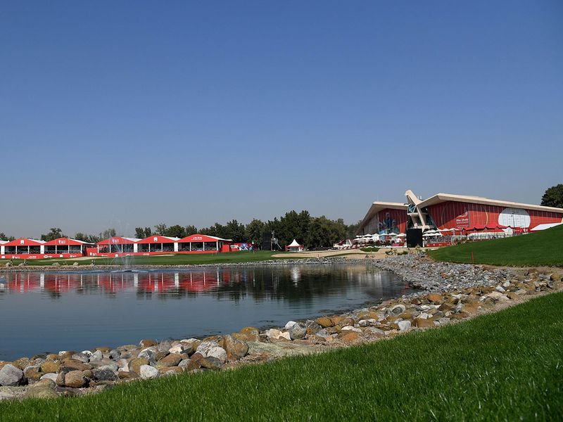 The Abu Dhabi Golf Course awaits the competition on Thursday to begin the 2021 season