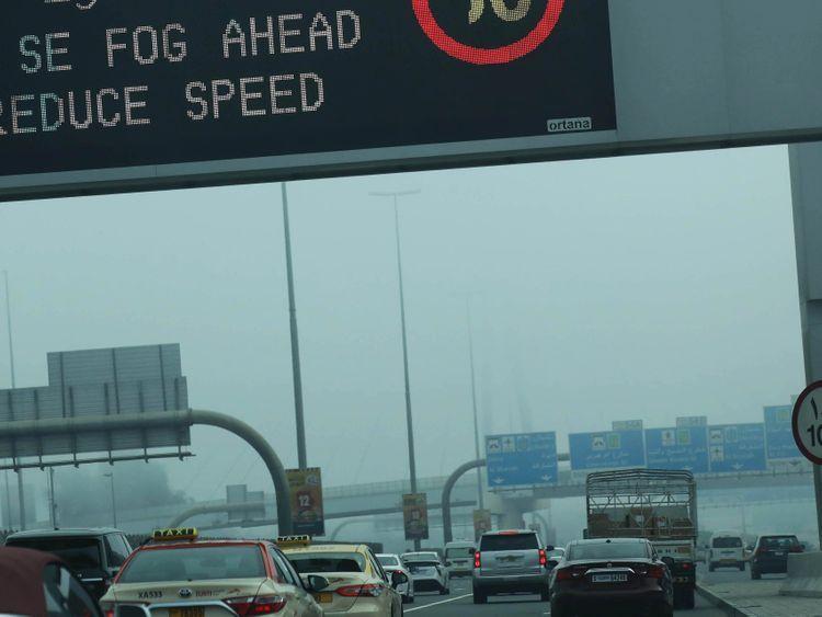 weather fog