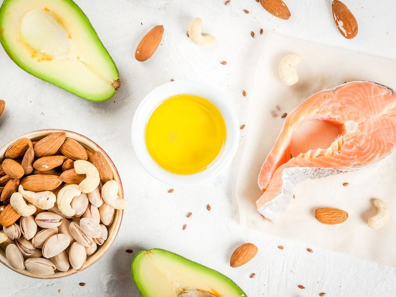 Eat plenty of good fats: Salmon, avocados, nuts, seeds, coconut oil