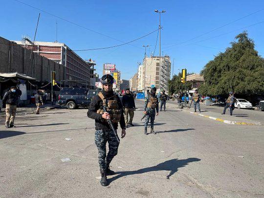 Iraq Baghdad suicide attack