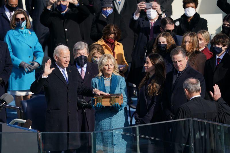 Joe Biden oath