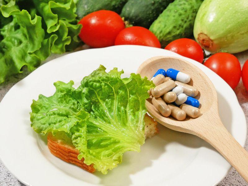 Supplements vs food