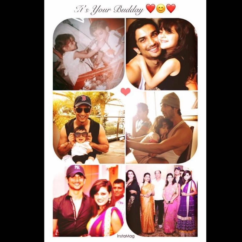 Sushant Singh Rajput's sister Shweta Singh Kirti posted a collage of him for his birth anniversary