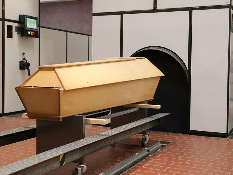 Swiss crematorium gallery