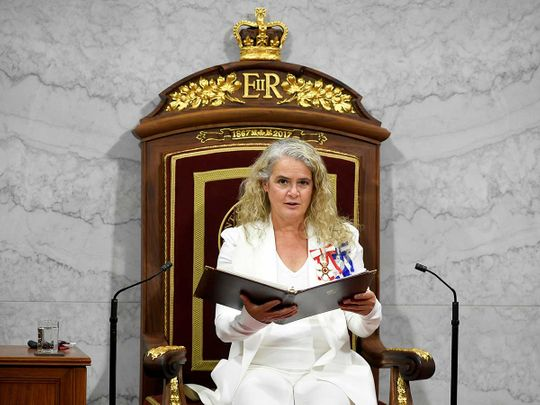 Canada's Governor General Julie Payette