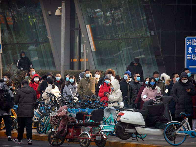 China mass testing gallery