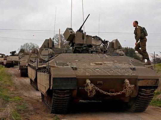 Israel troops Syria
