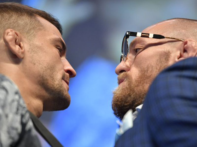 UFC-McGregor vs Poirier