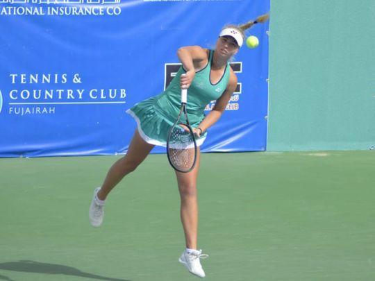 Junior Australian Open champion Clara Tauson wins in Fujairah