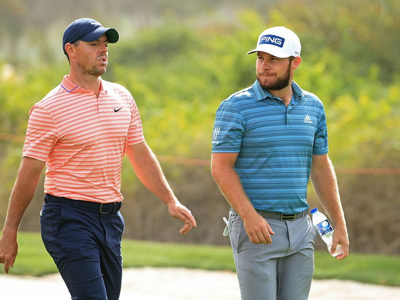 Rory McIlroy and Tyrrell Hatton will be out together for the final round in Abu Dhabi