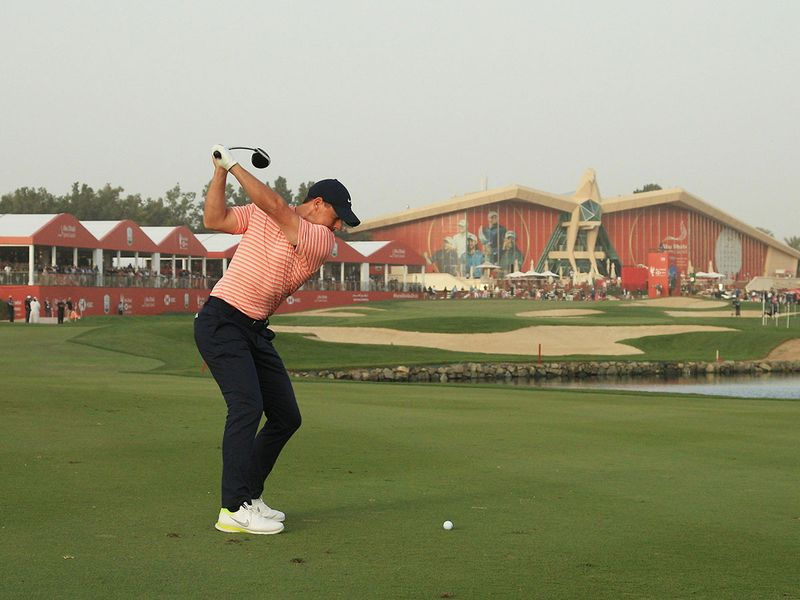 Rory McIlroy is back in charge at the Abu Dhabi HSBC Championship