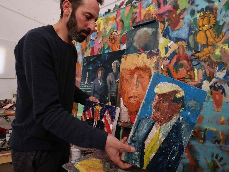 120 shades of Trump gallery