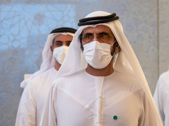 Cabinet meeting Sheikh Mohammed